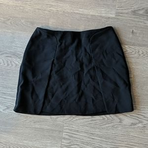 Banana Republic Black Miniskirt (with pockets!)